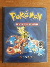 Pokemon Trading Card Display Album Wizards of the Coast Folder Book Binder 1999