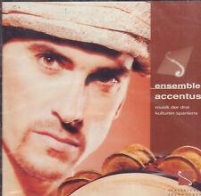 ENSEMBLE ACCENTUS - MUSIK DER DREI KULTUREN SPANIENS (1997 CLASSICAL CD)