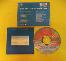 CD DIRE STRAITS Communique 1979 Uk VERTIGO 800 052-2 no lp mc (CS59)