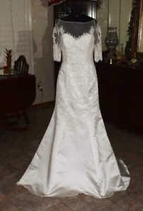 PRONOVIAS Bridal Gown Wedding Dress Size 10             REF:4770780