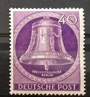 Berlin Michel Nr.105 Postfrisch** (1953) Freiheitsglocke Klöppel Mitte