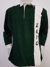 MAGLIA SHIRT RUGBY VINTAGE LOIC N.6 TG.4/5 JERSEY TRIKOT MATCH OLD MAILLOT R1