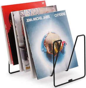 Zomo VS-Rack Loft, Black Vinyl Storage rack record display.