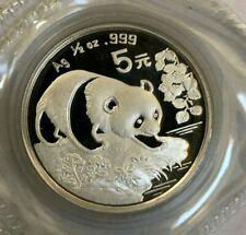 China 1994 5 Yuan 1/2 oz Silver Panda - Original Double Sealed.