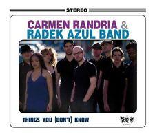 CARMEN RANDRIA & RADEK AZUL BAND - THINGS YOU [DON'T KNOW] - 2012 - CD NEUF NEW