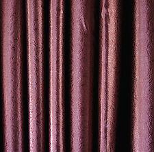 A Pair 100% Burgundy Blockout Curtains, 2x200cmx250cm Drop. Agate