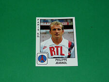 PANINI FOOTBALL FOOT 90 N°258 PHILIPPE JEANNOL PARIS SAINT-GERMAIN PSG 1989-1990