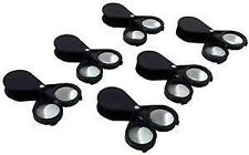 20X Pocket Magnifying Glass Magnifiers Set Of 6