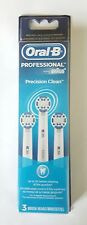 Oral-B PRECISION CLEAN , 3 Replacement Brush Heads *BRAND NEW