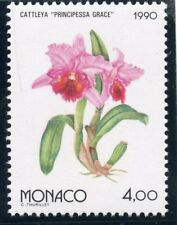 TIMBRE MONACO N° 1713 ** OSAKA 90 / EXPOSITION FLORAL / FLORE / CATTLEYA