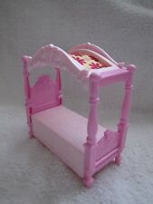 New! Fisher Price Loving Family Dollhouse GIRLS CANOPY BED for BEDROOM Beautiful