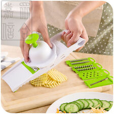 5 in 1 Vegetable Slicer Set- Food Cheese Grater Creative Kitchen Tool Utensils