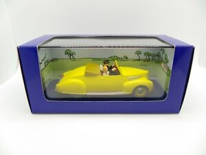 Lincoln Zephyr Cabriolet 1939 Tintin September Balls Of Crystal 1/43 Atlas