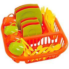 Wader 29-teilig dinette service enfants / vaisselle pour de poupée NEUF