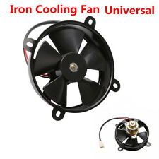 1x Universal Motorcycle Oil / Water Cooler Electric Radiator Thermal Cooling Fan