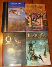 Lot of 4 Children's Books Fantasy Greats ~ Harry Potter, Peter Pan, Oz & Narnia