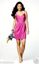 PURELY ALFRED ANGELO 7155 PINK ORCHID SZ 14 SUNDRESS BRIDESMAID PARTY GRAD DRESS