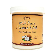 BMB 100% Pure Coconut Oil for Hair and Skin Puro Aceite De Coco 16 oz