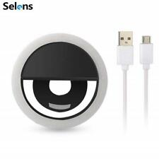 Selens Portable Selfie Led Ring Fill Light Camera Photography for Android iPhone