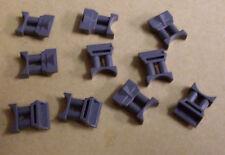 10 Lego Star Wars Ferngläser ( googles grau grey Zubehör Kleinteile ) Neu
