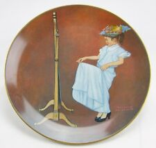 "Knowles-""Almost Grown Up""-Norman Rockwell American Family Ii-Nle- plate-Usa-New!"