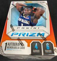 New Panini Prizm 19-20 Blaster Box 24 cards Sealed ZION Morant? Basketball NBA