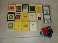 VINTAGE LOT OF 16, 8-TRACK TAPES 70s TV Shows, Sound Tracks UNTESTED AS IS