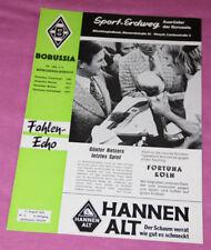 Fohlen Echo Borussia Mönchengladbach - Fortuna Köln 11.08.1973 RAR