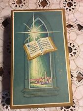 Vintage Scripture Text Religious Christmas Card Assortment