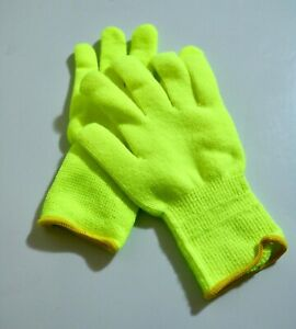 10 Pack Fleece Lined Gloves Acrylic Insulated Knitted Mitts Soft Liner (R147)