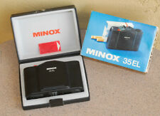 Minox 35 EL Rangefinder camera in original case and sleeve w Minotar 35mm F2.8