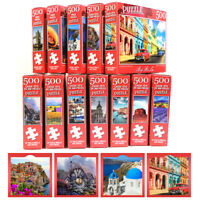 500 Pieces Educational Jigsaw Puzzle Animal Landscape Adult Puzzles Kids Toy