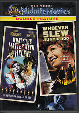 DVD ZONE 1 / DOUBLE FEATURE / SHELLEY WINTERS / WHOEVER SLEW AUNTIE ROO + 1