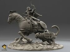 RP Models Kuthulun Mongol Warrior Unpainted 120mm kit LIMITED EDITION - LAST FEW