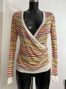Missoni knit top PRISTINE IT 42 UK 10 Stretch RRP £599