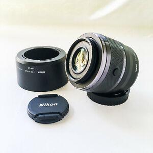 Nikon 1 Nikkor 30-110mm f3.8-5.6 VR ED IF Zoom Lens Black