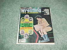 1976 Wrestling Yearbook Andre The Giant Cover