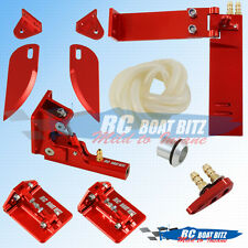 Traxxas Spartan upgrade hardware set red