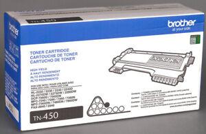 Genuine SEALED Brother High Yeld TN-450 Toner Cartridge -  New in box