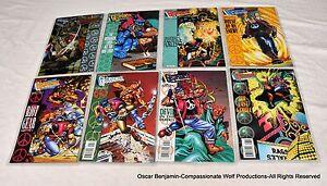 Geomancer Lot!  Valiant Comics!  Complete!  1994