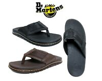 New DR MARTENS Men's Unisex Athens Thong Carpathian Flip flops Sandal Shoes