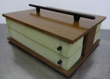 Nähkasten Näh Utensilien Box ~ 60er - mid century modern design sewing box 60s