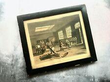 Antique 1809 Print by J Bluck The Mint London - Ackermann's