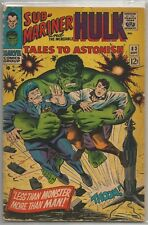 Tales To Astonish #83 Marvel 1966 Silver Age Comic Fn+/Vf- (Sub-Mariner/Hulk)