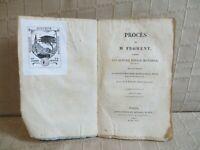procès de M. Froment contre son altesse royale monsieur, frère du roi avril 1823