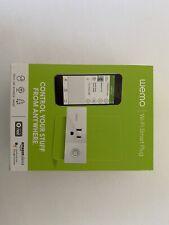 Wemo - WiFi Smart Plug - Brand New (Works w/ nest, Google Assistant, Amazon A
