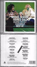 CD 15 TITRES MICHEL BERGER ET FRANCE GALL QUAND ON EST ENSEMBLE BEST OF 2017