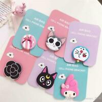 Silicone Cartoon Holders Expanding Holder Stand Grip Clip Ring for SmartPhone Ai