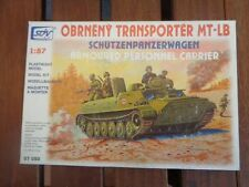 SDV Model MT-LB TRANSPORTER / Schützenpanzer NVA/Rote Armee Warschauer Pakt H0