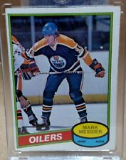 1980-1981 O-PEE-CHEE Mark Messier #289 Hockey Card